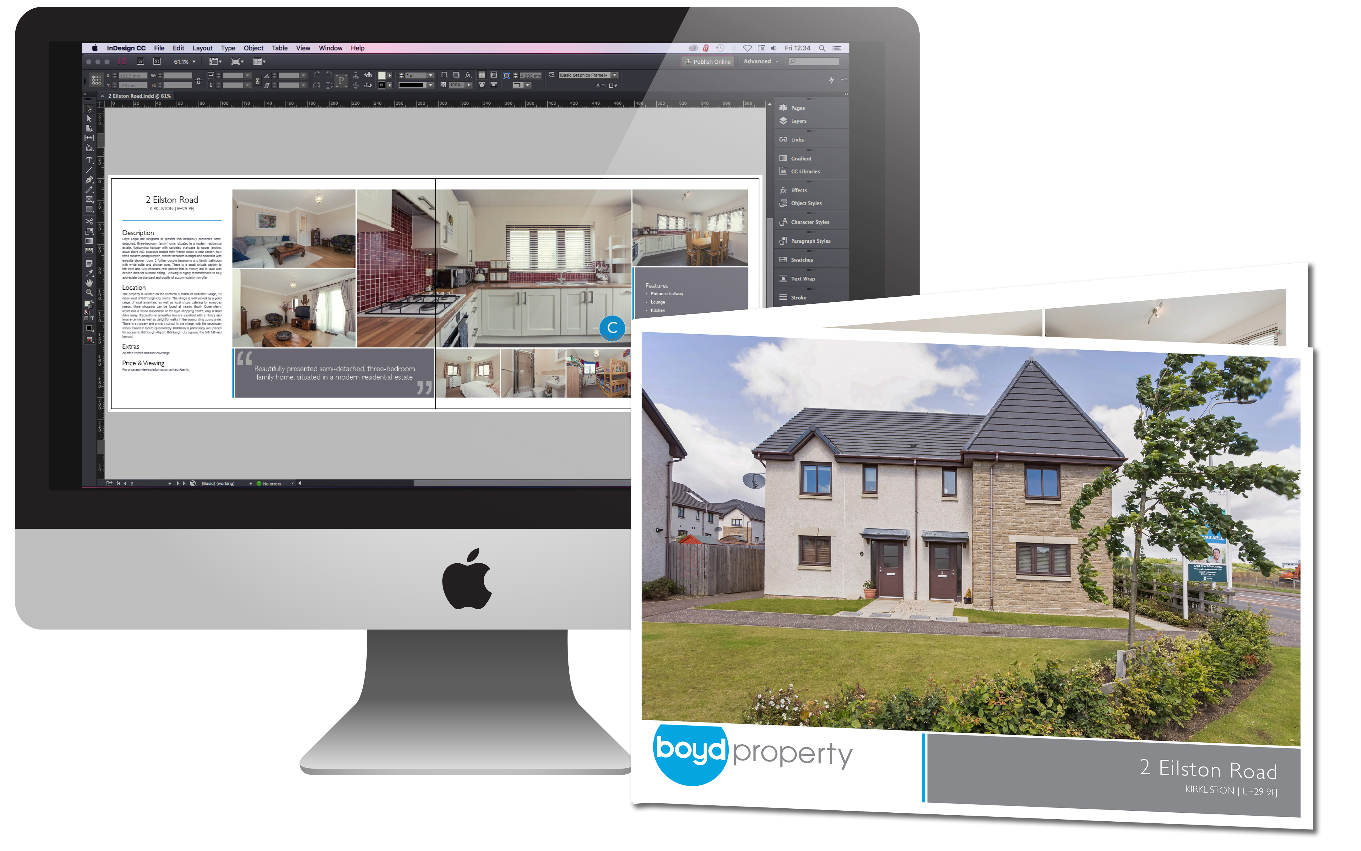 Property Quality Printed Brochure